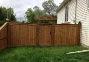 Alcatraz Fences & Decks Inc Decorative Archway Wooden Fence